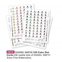 Aquarellfarben DANIEL SMITH Dot Cards – Proben Farbkarten 238 Card
