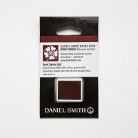 Aquarellfarben Daniel Smith Extra Fine Art Watercolors Halbe Näpfe Burnt Sienna Light ½ Napf