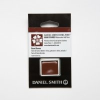 Aquarellfarben Daniel Smith Extra Fine Art Watercolors Halbe Näpfe Burnt Sienna ½ Napf