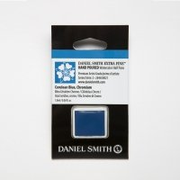 Aquarellfarben Daniel Smith Extra Fine Art Watercolors Halbe Näpfe Cerulean Blue, Chromium ½ Napf