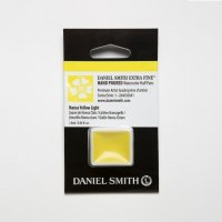Aquarellfarben Daniel Smith Extra Fine Art Watercolors Halbe Näpfe Hansa Yellow Light ½ Napf