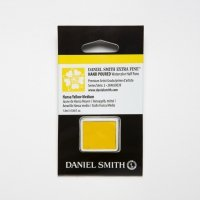 Aquarellfarben Daniel Smith Extra Fine Art Watercolors Halbe Näpfe Hansa Yellow Medium ½ Napf