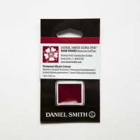 Aquarellfarben Daniel Smith Extra Fine Art Watercolors Halbe Näpfe Permanent Alizarin Crimson ½ Napf