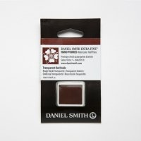 Aquarellfarben Daniel Smith Extra Fine Art Watercolors Halbe Näpfe Transparent Red Oxide ½ Napf