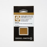 Aquarellfarben Daniel Smith Extra Fine Art Watercolors Halbe Näpfe Yellow Ochre ½ Napf