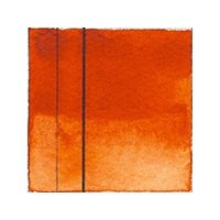 Aquarellfarben Golden QoR Künstler Transparent Pyrrole Orange (PO71)