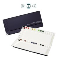 Aquarellpaletten Mijello Watercolor Palette Silver Nano 40