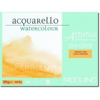 Aquarellpapier Fabriano Artistico Traditional White