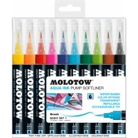 Kalligraphie MOLOTOW™ GRAFX Aqua Ink Softliner Sets